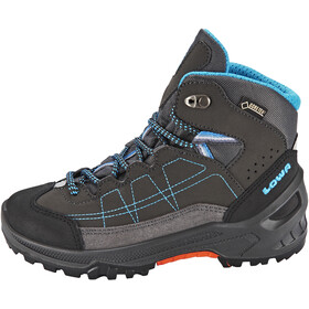 Lowa Approach GTX Mid Kengät Lapset, anthracite/turquoise